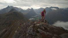 Wonderland beds is one of the sponsors of Romsdalseggenløpet - a mountain run over the Romsdalseggen ridge.