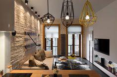 Small Apartment in Kiev by Elena Fateeva