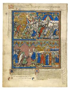 Abraham's Vengeance; A Blessing; The Corruption of the Sodomites | Fol. 3v | The Morgan Library & Museum