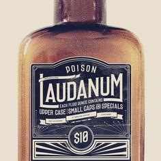 laudanum 7 font free download