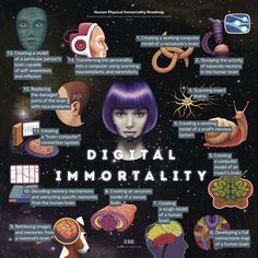 human Physical Immortality Road-map - Part 6 - Digital Immortality.
