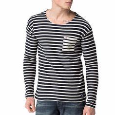 T Shirt Tommy Hilfiger manches longues modèle Keno pour homme
