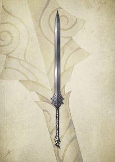 Sam's Sword by DanPilla.deviantart.com on @DeviantArt