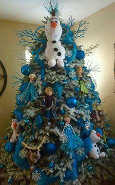 Frozen Inspired Christmas Tree | Christmas tree