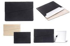 Original Urcover Ultra dünne GEARMAX Mac-Book Tasche für Ihren Tablet, Laptop, Notebook 15,4 Zoll / 39,1 cm Macbook Pro Retina, iPad Air, Galaxy Tab, Apple, Samsung Notebooktasche Laptoptasche Schwarz 31,90€