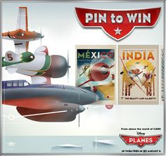 Enter the Pin to Win Sweepstakes: I'm going to see Planes right now- Planes Movie, Disney Planes, Disney Fun, Disney Movies, Disney Stuff, Disney World Parks, Walt Disney Studios, About Time Movie, Lilo And Stitch