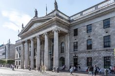 The General Post Office [GPO] on O'Connell Street In Dublin [ Ireland] #Historic #GPO #Building
