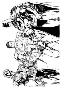 Spiderman Dibujo Imprimible Dibujos
