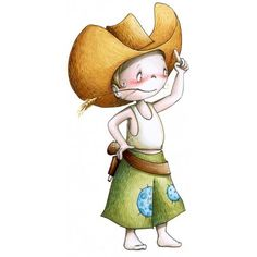 Le sticker Bangbang Kid 2, c'est comme accrocher son double à un mur. Tous les petits garçon s'identifieront à ce vaillant cow-boy et se mesureront à son audace et son courage !