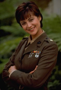 Classic Actresses, Hollywood Actresses, Actors & Actresses, Cathrine Bell, Sport Tv, Lisa Bell, Brown Eyed Girls, Female Soldier, Military Women