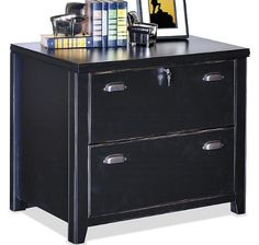 """Lateral File Cabinet . $699.00. Includes two lateral file drawers for legal/letter papers. Top drawer locks. Full extension heavy duty slide. Finished back. Measures 30""""W x 22""""D x 29""""H overall. Shpg. wt. 118 lbs. PRICE INCLUDES FREIGHT! (Truck shipment - See Terms & Conditions)."""
