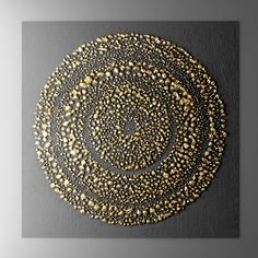 Painting Maya Wall Panel - Model How Landscape Paintings Can Brighten Up The Home Article Body: I Diy Wall Art, Diy Art, 3d Wall, Wall Sculptures, Sculpture Art, Glue Art, Gold Leaf Art, Texture Painting, Paint Texture