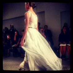 Christos wedding dress, fall 2014 collection. Photo: Charanna K. Alexander/The New York Times