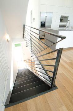 Custom handrail detail - SEATTLE HOME BY PB ELEMENTAL