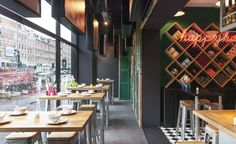 Things just got a little spicier in the thriving Amsterdam enclave of Old West. Chef Julius Jaspe...