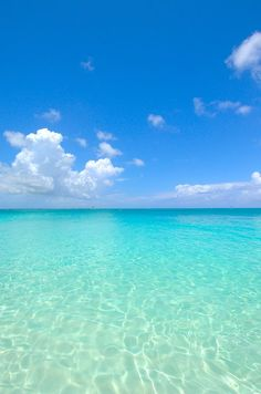 Turks and Caicos...the water really is that blue...