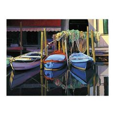 Chioggia Boats by Tom Swimm