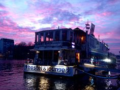 Eastern comfort Hostelboat Berlin were staying at!