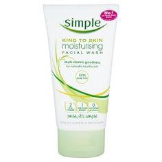 Simple Moisturising Foaming Face Wash - So nice!