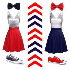 """""""Best friends ❤️💙"""" by hatersbackoff ❤ liked on Polyvore featuring Converse"""