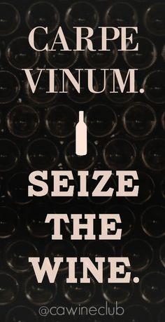 Seize the #wine.