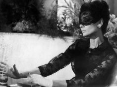 Audrey Hepburn in How To Steal A Million, 1966  I wish I had somewhere to wear such a mask