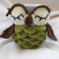 Owl mug cozy