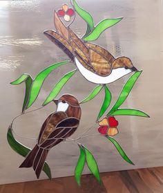 Tiffany Stained glass suncatcher décoration de vitrine en