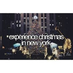 christmas in new york :)