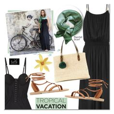 Designer Clothes, Shoes & Bags for Women Heidi Klein, Dressy Outfits, Straw Bag, Tropical, Luxury, Gabriel, Polyvore, Artisan, Bags