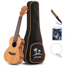 Donner Concert Ukulele Mahogany DUC-1 23 inch with Ukulele Set Strap Nylon String Tuner This is a top choice among the best products in Musical Instruments category in UK. Click below to see its Availability and Price in YOUR country.