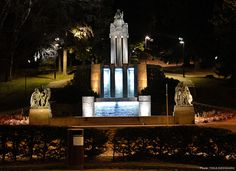 Monumentti Näsinpuisto tampere, ph Tiina Keihänen