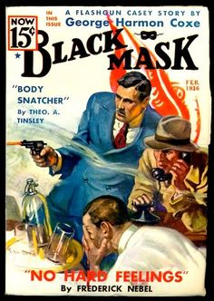 The Black Mask pulp- 1936