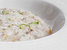 Falso risotto de calamar con curry verde