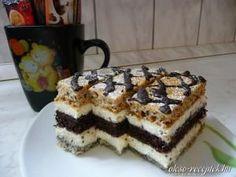 Csíkos süti recept fotó