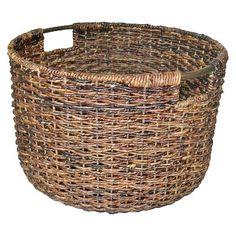Threshold™ Global Round Decorative Basket...got 4 for closet storage