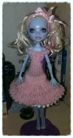 Dress with underskirt | free knitting pattern