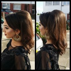 It was an absolute pleasure doing a 60's hairdo for @shamzym today. I'm sure she will have a wonderful time tonight at the Bollywood event.  Looking forward to doing her hair and makeup next week at The Bengali Wedding Fair.  Beautiful black saree worn by @shamzym by @imanboutique  #shamzym #bollywood #imanboutique #hairdo #makeupartist#mehndibride #hudalashes #zukreat #HudaBeauty #bengalibride #pakistanibrides #indianbrides #afghanbride #hudalashes #asianbride #asianbridal #bridalbouquet…