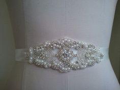 SALE Wedding Belt Bridal Belt Sash Belt by LucyBridalBoutique