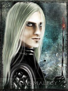 Lucius Malfoy - tarot series by Patilda on deviantART