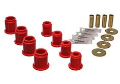 Energy Suspension 6/95-04 Toyota Tacoma Pick Up 4WD (Exc T-100/ Tundra) Red Front Control Arm Bushing Set