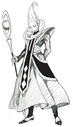 928412540b Dragon Ball Z desenhado pelo artista de One Punch Man Whis Dragones