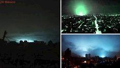 Jinetes Del Apocalipsis? Luces Aparecieron En El Cielo Durante Terremoto EN MEXICO Que Son?