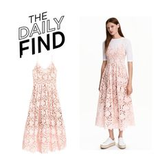 """The Daily Find: H&M Dress"" by polyvore-editorial ❤ liked on Polyvore featuring DailyFind"