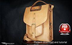 Bag Pattern Leather DIY Pdf Download Leather Pattern