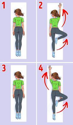 Ako som si cvičením za 30 dní dala do poriadku chrbát Hata Yoga, Fix Your Posture, 7 Minute Workout, Feeling Sleepy, Hip Stretches, 30 Day Fitness, Yoga Nidra, Back Muscles, Regular Exercise