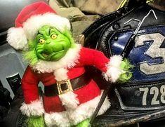 Firefighter Apparel, Firefighter Humor, Firefighter Training, Firefighter Family, Fire Helmet, Merry Christmas, Christmas Ornaments, Girly, Hero