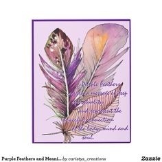 Purple Feathers and Meaning Metal Print Dream Bath, Sunrooms, Cottage Living, Bohemian Decor, Clocks, Feathers, Your Design, Meant To Be, Centre