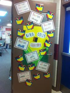 crayon themed classroom ideas - Bing Images