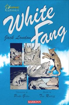 White Fang (Graphic Classics) by Tom Ratliff http://www.amazon.com/dp/0764144502/ref=cm_sw_r_pi_dp_zaAOvb0S8MSBP